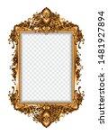 set of decorative vintage... | Shutterstock .eps vector #1481927894