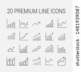 growth related vector icon set. ... | Shutterstock .eps vector #1481939087