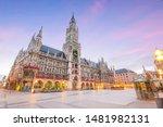 munich skyline with ...   Shutterstock . vector #1481982131
