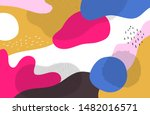 bright colorful background  ... | Shutterstock .eps vector #1482016571