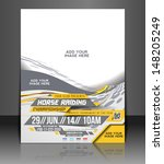 Horse Riding Flyer & Poster Template