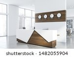 corner of modern open space... | Shutterstock . vector #1482055904