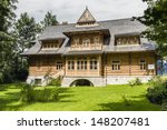 zakopane   july 17  villa ... | Shutterstock . vector #148207481