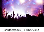 crowd at concert | Shutterstock . vector #148209515