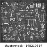 back to school big doodles set...   Shutterstock .eps vector #148210919