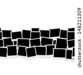 photo frames  seamless pattern... | Shutterstock .eps vector #148211309