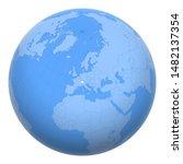 switzerland on the globe. earth ...   Shutterstock .eps vector #1482137354