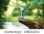 Clean Water  Healthy Concept
