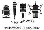 Set Of Microphones   Music  ...