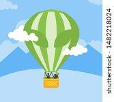 Alien Printed Hot Air Balloon...