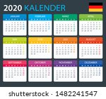 vector template of color 2020... | Shutterstock .eps vector #1482241547