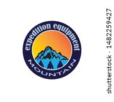 mountain icon logo business... | Shutterstock .eps vector #1482259427