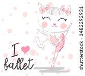 I Love Ballet. Girlish...