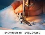 The Sewing Machine And Item Of...