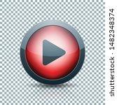 play arrow button sign... | Shutterstock .eps vector #1482348374