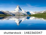 Stellisee And Matterhorn In The ...