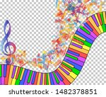 Abstract Musical Theme....