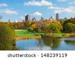 new york city central park in... | Shutterstock . vector #148239119