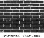 distress old brick wall texture.... | Shutterstock .eps vector #1482405881