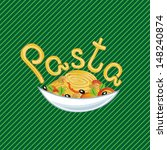 pasta illustration | Shutterstock . vector #148240874