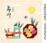 korea tradition vector...
