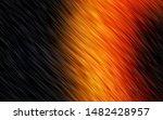 dark orange vector pattern with ... | Shutterstock .eps vector #1482428957