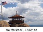 A Fire Lookout Watchtower ...