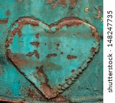 Image Of Iron Heart   Heart On...