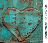 Image Of Iron Heart   Heart On...