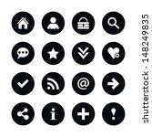16 popular colors icon basic... | Shutterstock .eps vector #148249835