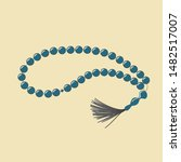 String Of Beads Used By Muslims ...