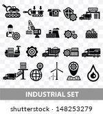 industrial icons blank... | Shutterstock .eps vector #148253279