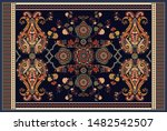 colorful ornamental vector... | Shutterstock .eps vector #1482542507