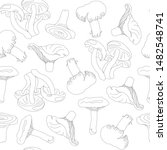 black and white pattern from... | Shutterstock .eps vector #1482548741