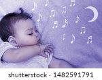 Little Child Falls Asleep In...