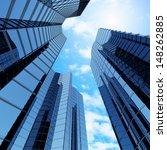 Bottom View Of Modern...