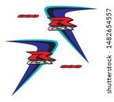 Stickers Suzuki Gsx R600 Logo...