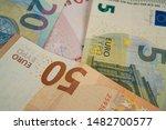 Euro Bank Notes Five  Ten ...