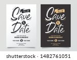 wedding invitations and save... | Shutterstock .eps vector #1482761051