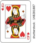 queen of hearts | Shutterstock .eps vector #148281887