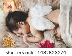 Cute Infant Baby Girl Or Littl...