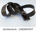 Leather Belts  Black In Color ...