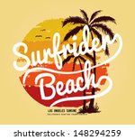 set of summer   surfing design  ... | Shutterstock .eps vector #148294259