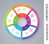 infographics design vector... | Shutterstock .eps vector #1482969341