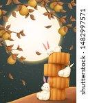 mid autumn festival... | Shutterstock .eps vector #1482997571