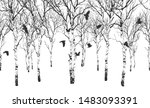 seamless horizontal background...   Shutterstock .eps vector #1483093391