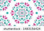 colorful ornamental pattern.... | Shutterstock .eps vector #1483156424