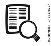 search icon. vector graphics....