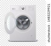 vector 3d realistic modern...   Shutterstock .eps vector #1483229921