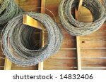 Rolls Of Barbed Wire